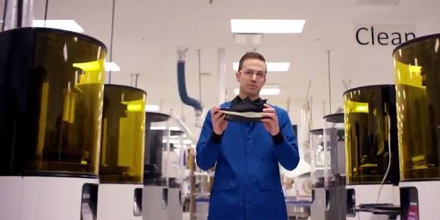 Adidas se lance dans la chaussure de sport imprimée en 3D - La DH