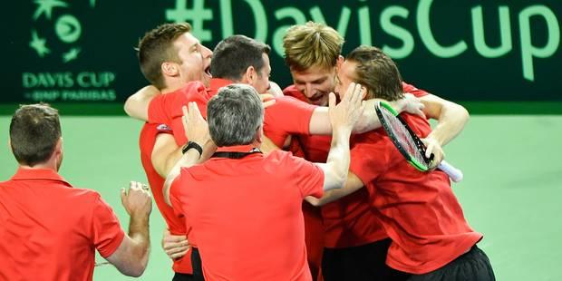 Coupe Davis: Goffin surclasse Lorenzi et qualifie la Belgique pour les demi-finales (3 points à 2) - La DH