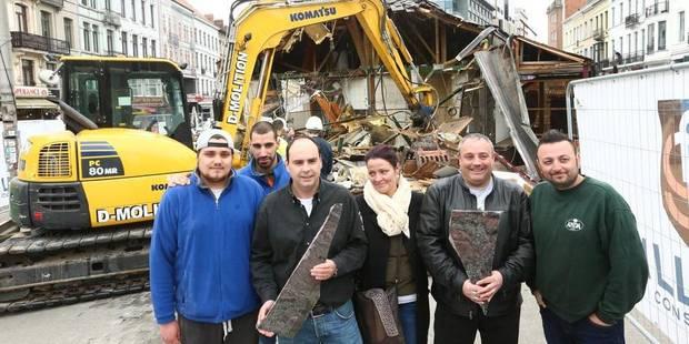 Etterbeek: la friterie Antoine a été détruite (PHOTOS + VIDÉO) - La DH