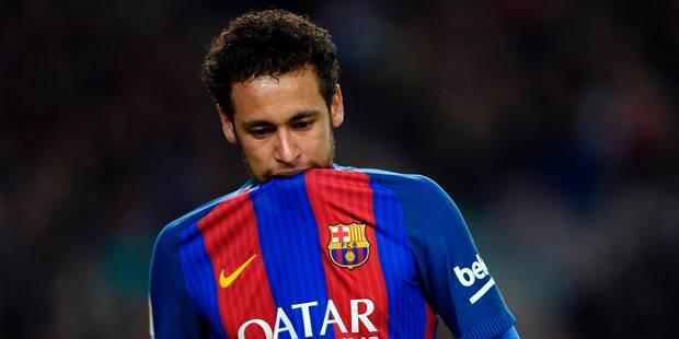 Neymar suspendu trois matches manquera le clasico contre le Real Madrid - La DH