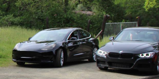 La Tesla Model 3 pour contrer la BMW Série 3? - La DH