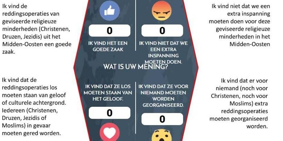 Quand Theo Francken (N-VA) s'essaye aux sondages Facebook... et choque