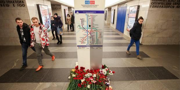 Arrestation d'un organisateur présumé de l'attentat du métro de Saint-Pétersbourg - La DH