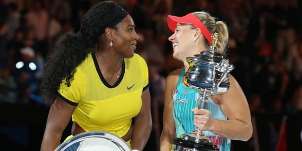 Angelique Kerber devra à nouveau céder la première place du classement WTA à Serena Williams - La DH