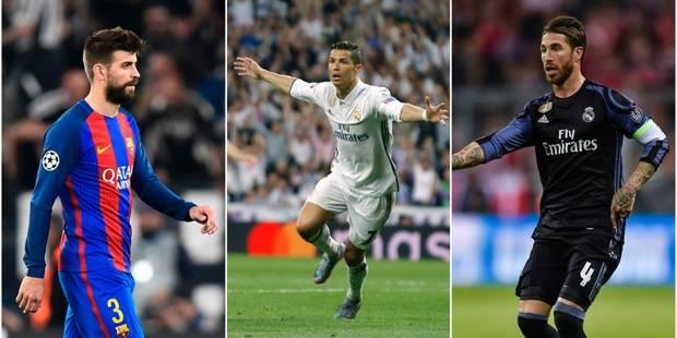 Le tweet assassin de Piqué après le but sur hors-jeu de Ronaldo... et la réponse de Ramos! (VIDEOS) - La DH