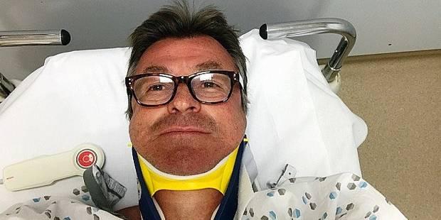 Gaetan Vigneron victime d'un crash impressionnant - La DH