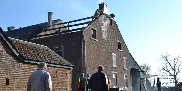 Nassogne: Un incendie détruit une habitation à Grune (PHOTOS) - La DH