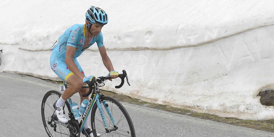 Michele Scarponi décède dans un tragique accident lors d'un entraînement