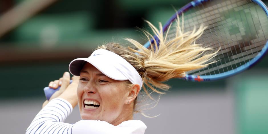 Retour réussi pour Sharapova, déjà en demi-finale à Stuttgart — Tennis