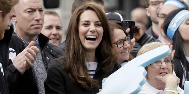 Kate et William tout sourire pour soutenir les marathoniens - La DH