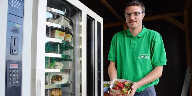 Tournai : Des distributeurs de vitamines - La DH