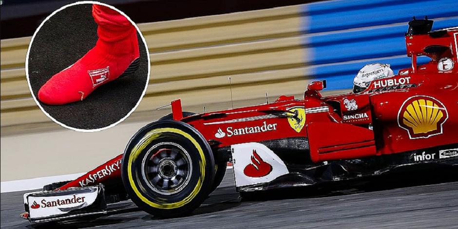 Vettel va rouler en chaussettes!