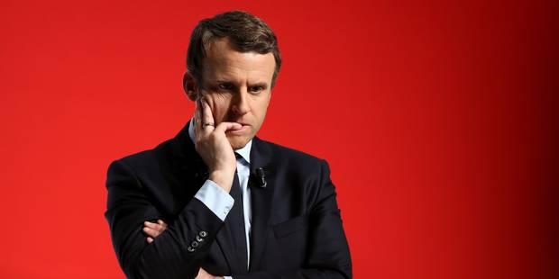 """Présidentielle: Macron exclut une """"coalition"""" avec LR ou le PS et tacle Baroin - La DH"""