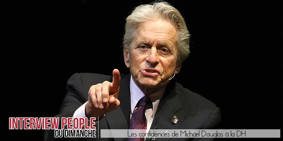 Michael Douglas, l'interview cash