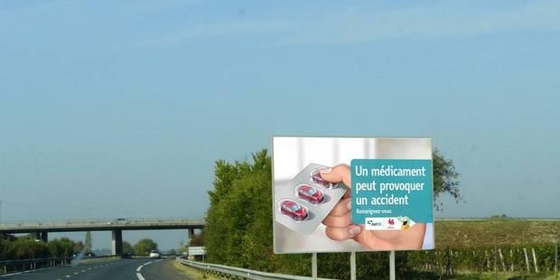 Conduite sous influence de médicaments: 5 fois plus de risques d'accidents ! - La DH