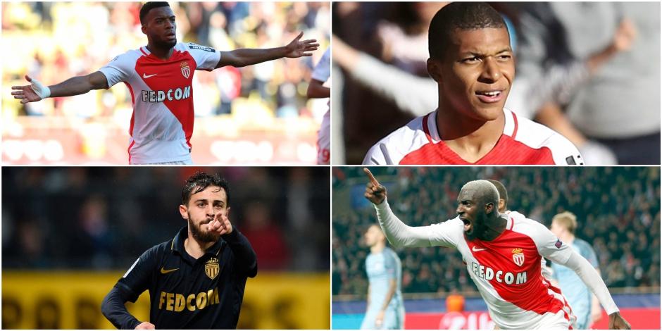 Mbappé, Silva, Fabinho, Lemar,... Voici les sept joyaux de Monaco - La DH