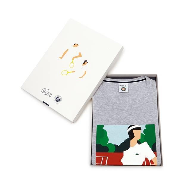 Pour les mamans fans de tennis, le t-shirt spécial Roland-Garros, Lacoste