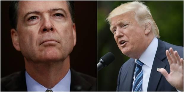Trump limoge le patron du FBI - La DH