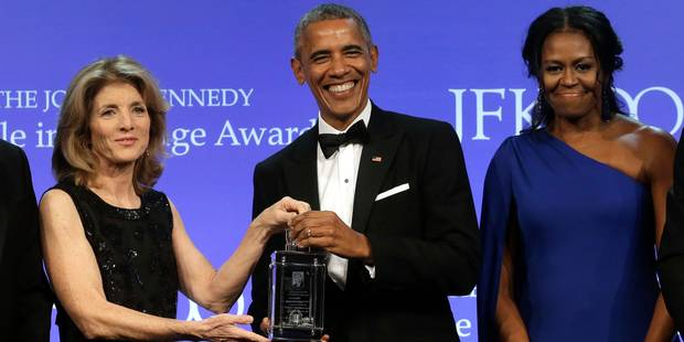 Le couple Obama fait toujours autant le buzz - La DH