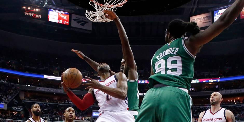 NBA: Washington arrache la victoire de l'espoir face à Boston