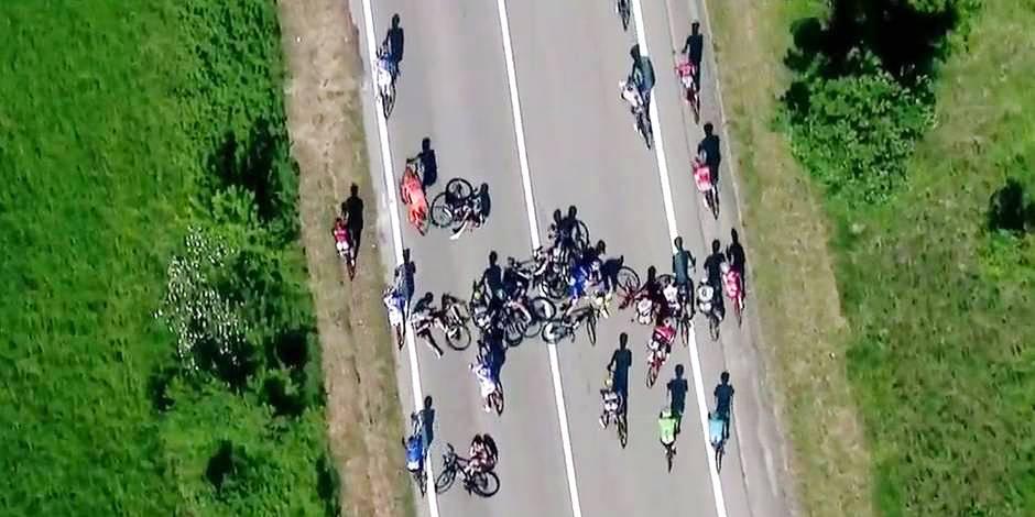"""Giro: """"Que faisait cette stupide moto là ?"""""""