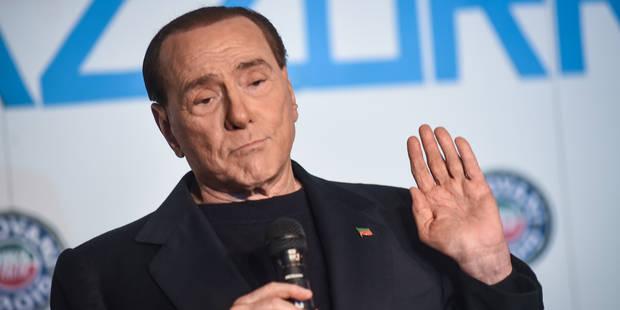 Silvio Berlusconi a osé la blague misogyne à propos de Brigitte Macron - La DH