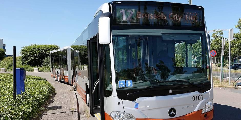 Bruxelles: Les bus électriques de la Stib seront testés sur quatre lignes