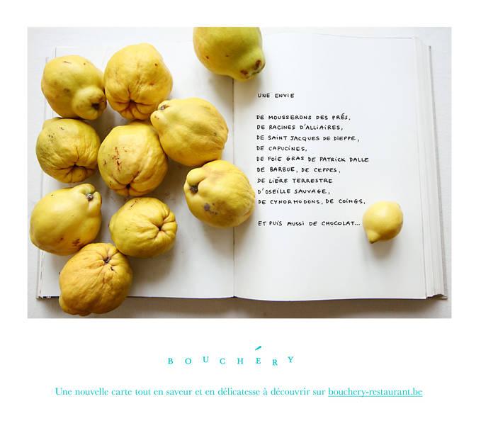 Newsletter pour le restaurant Bouchéry