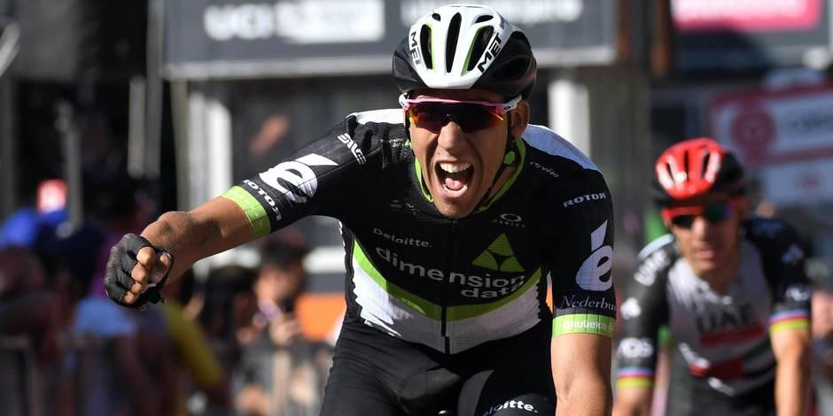 Tour d'Italie: Fraile vainqueur en moyenne montagne