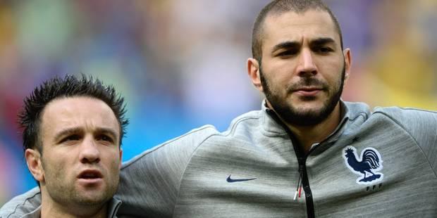Ça clashe fort entre Benzema et Valbuena - La DH