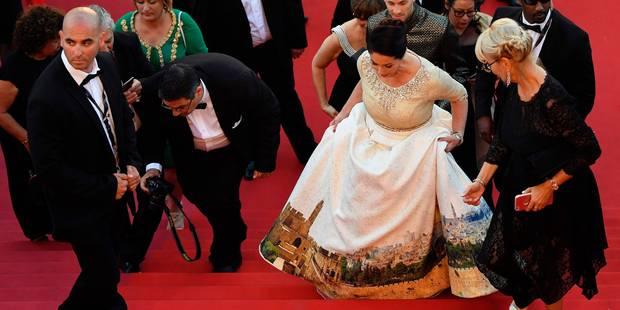 La robe de la ministre israélienne de la Culture à Cannes fait polémique - La DH