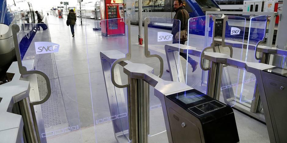 Des portiques de sécurité au départ des trains internationaux installés cet été