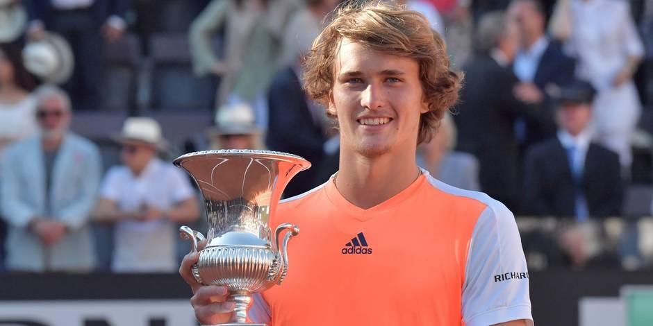 Qui est Alexander Zverev, la sensation qui vient d'intégrer le Top 10 ATP à 20 ans seulement? - La DH
