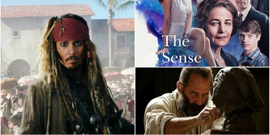 Sorties ciné: une nouvelle galère pour Jack Sparrow, un beau roman et un Rodin trop classique
