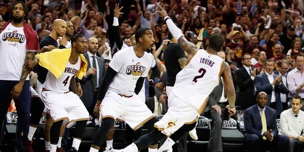 NBA: Un immense Kyrie Irving sauve les Cavs (+VIDEOS) - La DH