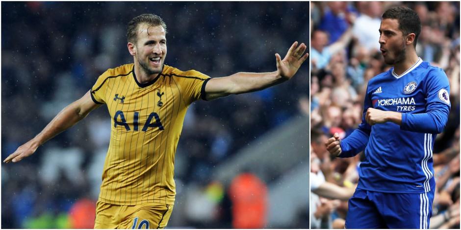 Les supporters élisent Kane comme Joueur de l'Année, Hazard est sur le podium