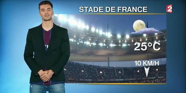 Meunier présentateur surprise de la météo durant la finale de la Coupe de France ! (VIDEO) - La DH