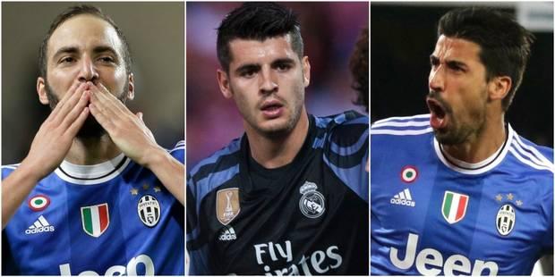 Higuain, Morata, Khedira : entre le Real et la Juventus, leurs coeurs balancent - La DH
