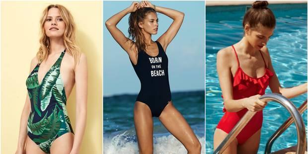 15 maillots de bain une pièce pour sortir du lot sur la plage - La DH