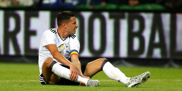 Coupe des Confédérations: Julian Draxler est le capitaine de l'Allemagne - La DH