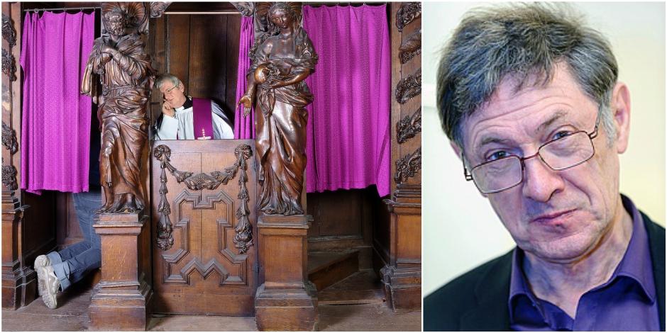 """Gabriel Ringlet lance un coup de gueule : """"Le secret de la confession doit être absolu"""" - La DH"""