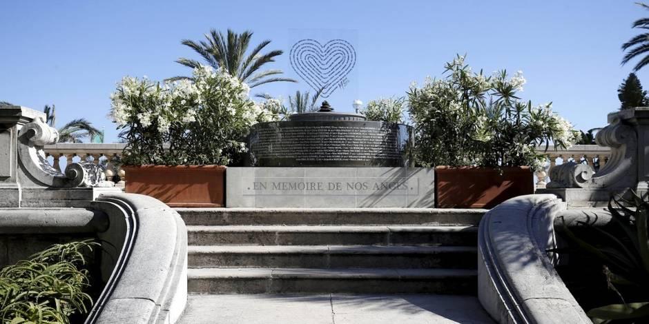 Attentat : Nice inaugure un monument temporaire pour les victimes