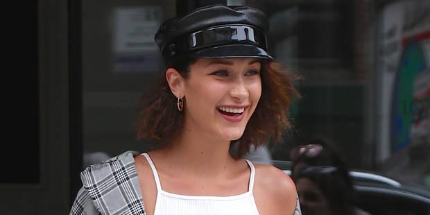 Bella Hadid fait sensation en mini-jupe à Paris - La DH