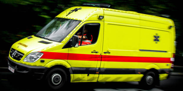 Theux: Collision à un carrefour entre une voiture et un camion - La DH