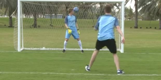 Quand KDB joue les gardiens, il se prend le ballon en pleine tête (VIDEO) - La DH