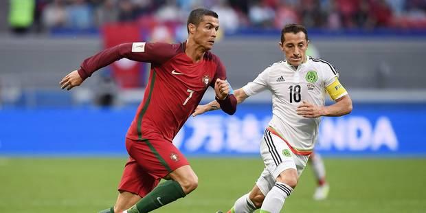 Coupe des Confédérations: le Portugal démarre par un nul contre le Mexique (2-2) - La DH
