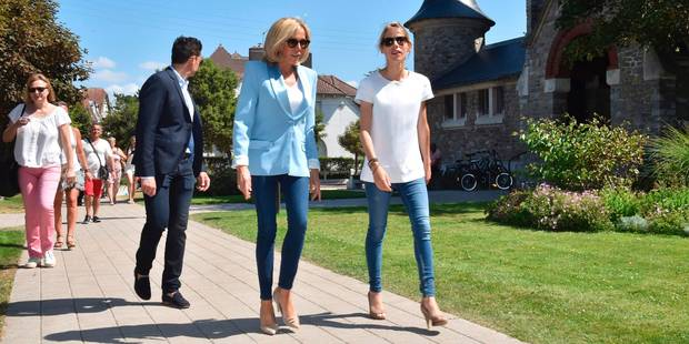 Brigitte Macron et Tiphaine Auzière : une ressemblance frappante - La DH