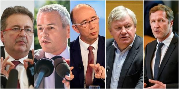 Annonce du CDH : Voici le potentiel grand jeu de chaises musicales des ministres PS - La DH