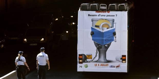 Un bus de tourisme s'encastre dans un tunnel à Paris: au moins 4 blessés - La DH