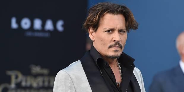 Johnny Depp s'excuse après ses propos évoquant un assassinat de Trump - La DH